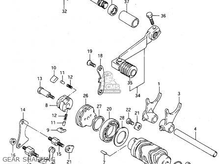 Suzuki TS125R 1993 (P) (E02 E04 E18 E21) parts lists and