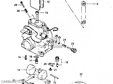 Suzuki TS125X 1985 (F) (E01 E02 E04 E06 E15 E17 E18 E21
