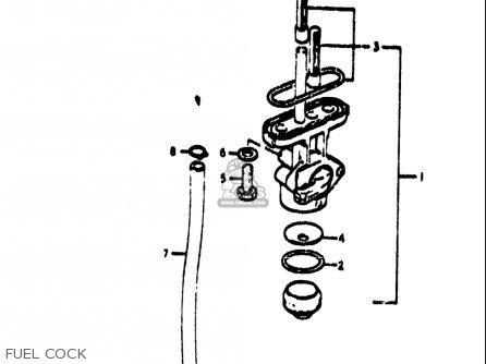 Suzuki Ts185 1971 1972 (r) (j) Usa (e03) parts list