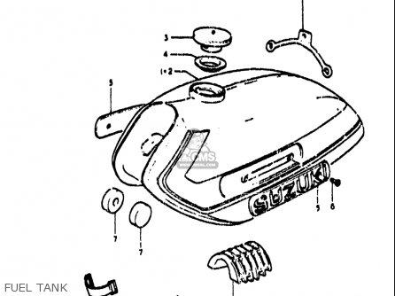 Suzuki TS185 1971 1972 (R) (J) USA (E03) parts lists and
