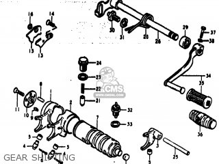 Suzuki Ts185 1973 (k) Usa (e03) parts list partsmanual