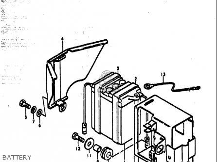 Suzuki Ts185 1977-1979 (usa) parts list partsmanual partsfiche