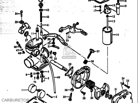 Suzuki Ts185 1977-1979 (usa) parts list partsmanual partsfiche