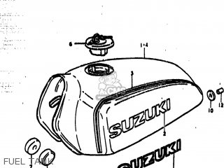 Suzuki Ts185 1977 (b) Usa (e03) parts list partsmanual