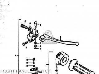 Suzuki Ts185 1978 (c) Usa (e03) parts list partsmanual