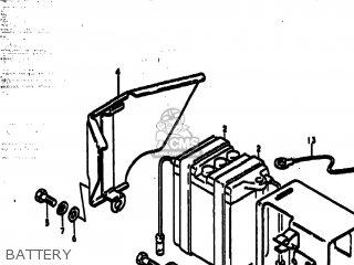 Suzuki Ts185 1979 (n) Usa (e03) parts list partsmanual
