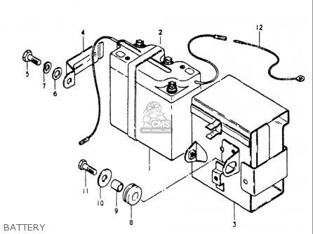 Suzuki Ts185 1980-1981 (usa) parts list partsmanual partsfiche