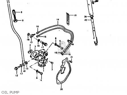 Suzuki Ts185 1981 (erx) parts list partsmanual partsfiche