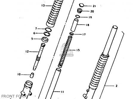 Suzuki TS185ER 1979 (N) (E01 E02 E04 E21 E24) parts lists