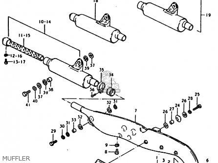 Suzuki Ts185er 1979 (n) (e01 E02 E04 E21 E24) parts list
