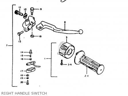 Suzuki Ts185er 1980 (t) (01 02 04 09 15 E17 E18 E21 E22