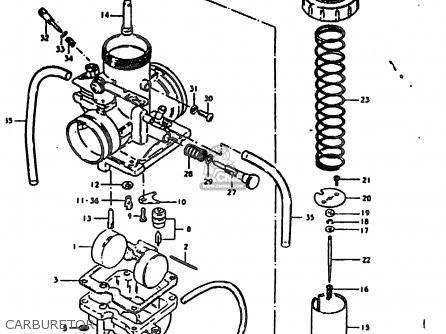 Suzuki TS185ER 1981 (X) (E01 E02 E04 E09 E21 E22 E24 E26