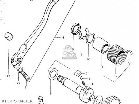 Suzuki TS250 19691970 USA (E03) parts lists and schematics