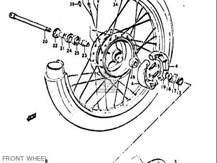 Suzuki TS250 1971 1972 (R) (J) USA (E03) parts lists and