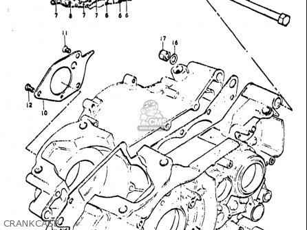Suzuki Ts250 1971-1972 (usa) parts list partsmanual partsfiche