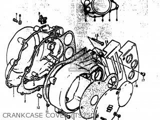 Suzuki TS250 1973 (K) USA (E03) parts lists and schematics