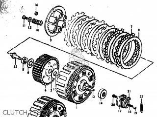 Suzuki TS250 1974 (L) USA (E03) parts lists and schematics