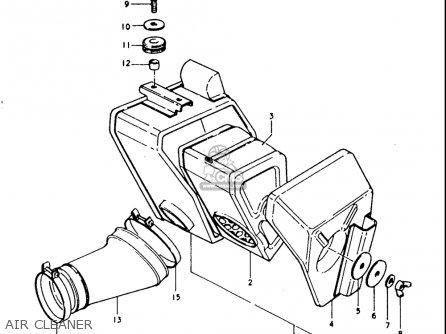 Suzuki Ts250 1977-1979 (usa) parts list partsmanual partsfiche