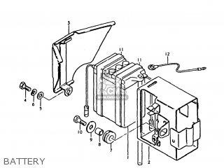 Suzuki TS250 1977 (B) USA (E03) parts lists and schematics