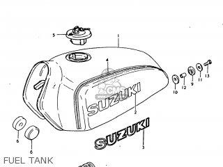Suzuki Ts250 1979 (n) Usa (e03) parts list partsmanual