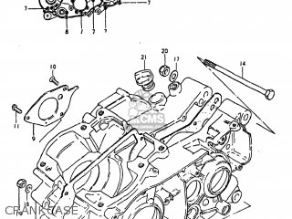 Suzuki TS250 1980 (T) USA (E03) parts lists and schematics