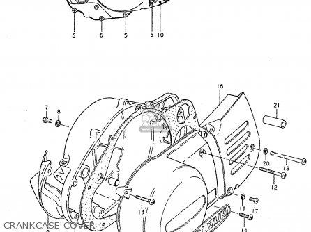 Suzuki TS250ER 1979 (N) (E01 E02 E04 E16 E18 E22 E24 E39