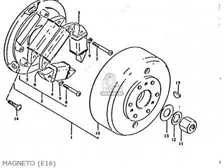 Suzuki Ts250er 1981 (x) (e1 E2 E4 E09 E16 E17 E18 E21 E22