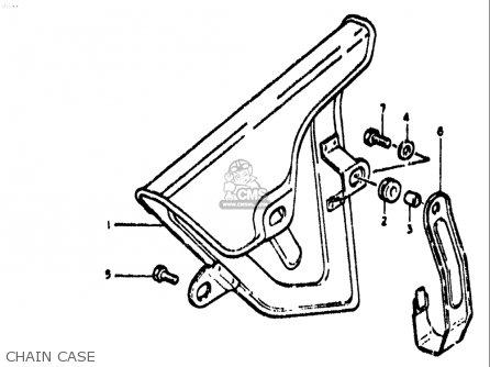 Suzuki Ts400 1972 (j) Usa (e03) parts list partsmanual