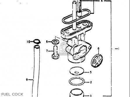 Suzuki TS400 1972 (J) USA (E03) parts lists and schematics