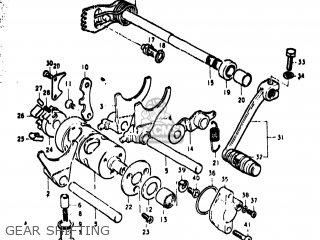 Suzuki TS400 1974 (L) USA (E03) parts lists and schematics