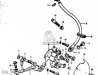 Suzuki TS400 1977 (B) USA (E03) parts lists and schematics