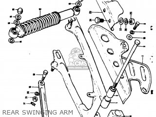 Suzuki TS50 1973 (K) USA (E03) parts lists and schematics