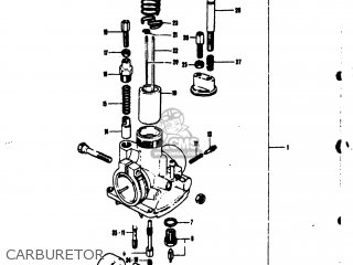 Suzuki TS50 1974 (L) USA (E03) parts lists and schematics