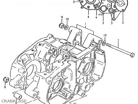 Suzuki Ts50 1981 (erpdt) parts list partsmanual partsfiche