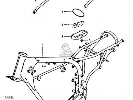Suzuki Ts50erk 1983 D) (e02 E16 E22) parts list