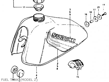 Suzuki TS50ERK 1983 D) (E02 E16 E22) parts lists and