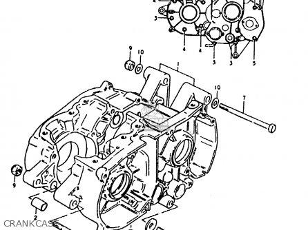 Suzuki TS50ERKD 1982 (Z) (E17 E18 E21 E41) parts lists and
