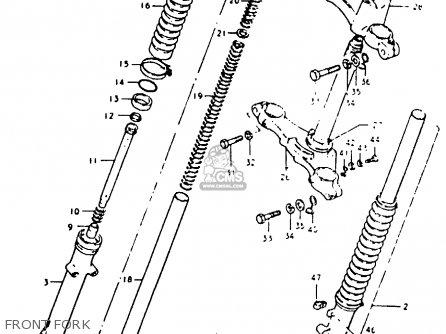 Suzuki Ts50erkd 1982 (z) parts list partsmanual partsfiche