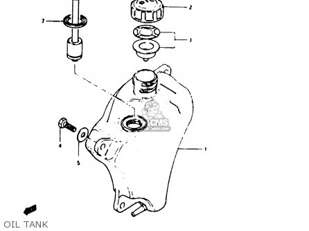 Suzuki Ts50erkd 1982 (z) parts list partsmanual partsfiche