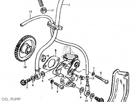 Suzuki TS50ERPD 1979 (N) parts lists and schematics