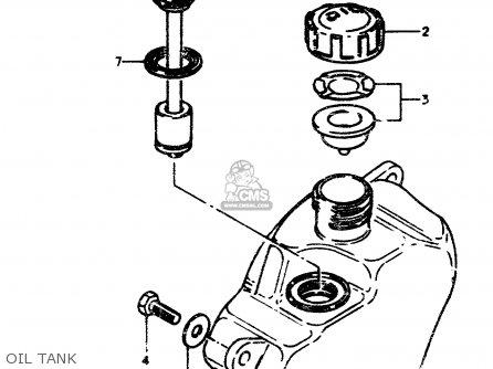 Suzuki TS50ERPD 1979 (N) parts lists and schematics