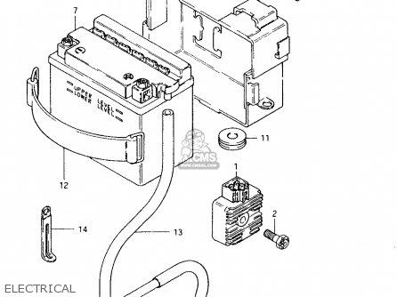 Suzuki TS50XK 1984 (E) (E02 E16 E18 E21) parts lists and