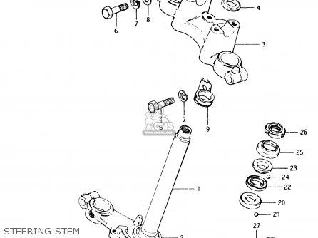 Suzuki TS50XK 1986 (G) (E02 E16 E18 E21 E25) parts lists