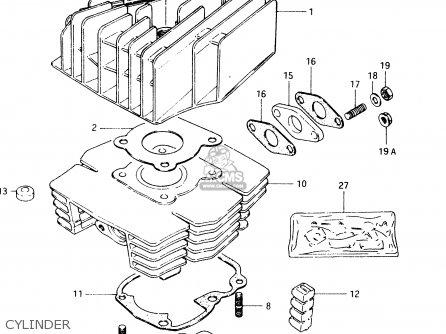 Suzuki TS50XK 1987 (H) (E02 E16 E18 E21 E25) parts lists