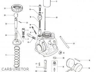 Suzuki TS90 parts lists and schematics