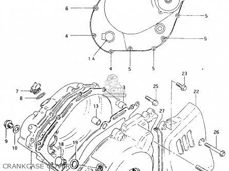 Suzuki Tu250 1997 (xv) parts list partsmanual partsfiche