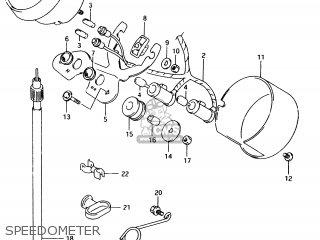 Suzuki Tu250 1998 (xw) parts list partsmanual partsfiche
