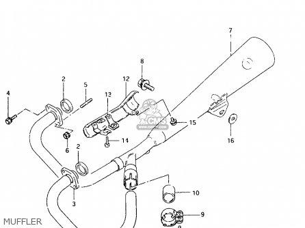 Suzuki Tu250 1999 (xx) parts list partsmanual partsfiche