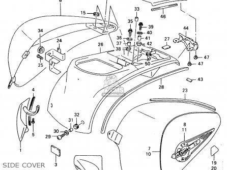 Suzuki VL1500 1998 (W) (E02 E04 E17 E18 E22 E24 E25 E34