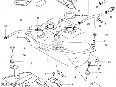 Suzuki Vl1500 1999 (x) parts list partsmanual partsfiche